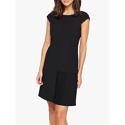Damsel in a Dress Zeeka Pleat Dress, Black