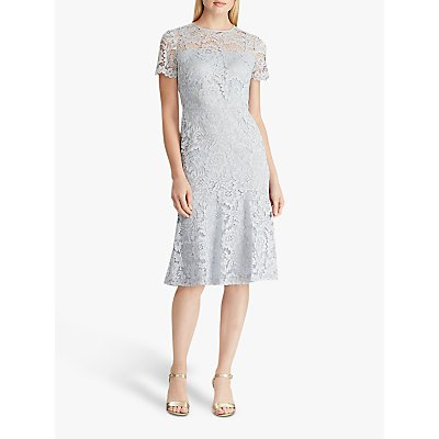 Lauren Ralph Lauren Loki Lace Dress, Toile Blue