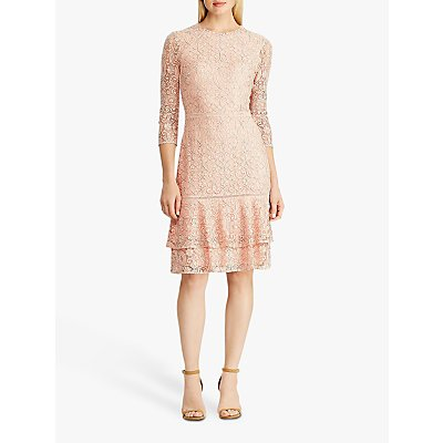Lauren Ralph Lauren Halima Floral Lace Dress