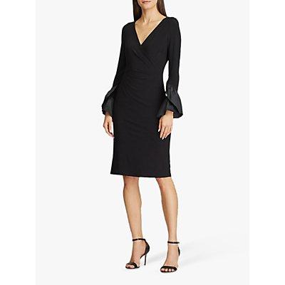 Lauren Ralph Lauren Moira Long Sleeve Day Dress, Black