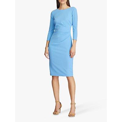 Lauren Ralph Lauren Finnlie 3/4 Sleeve Day Dress, Eos Blue