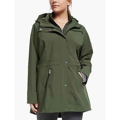 Lauren Ralph Lauren Curve Soft Shell Coat, Light Olive