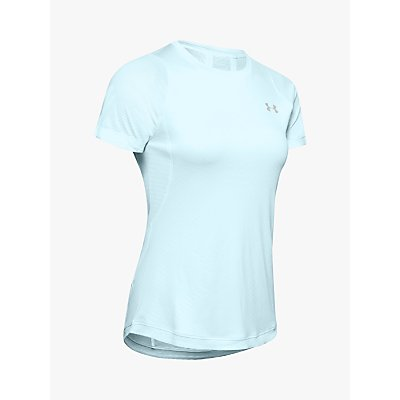 Under Armour Qualifier Iso-Chill Embossed Short Sleeve Running Top