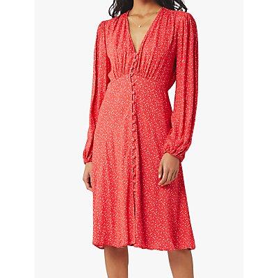 Ghost Estelle Heart Dress, Mika Red