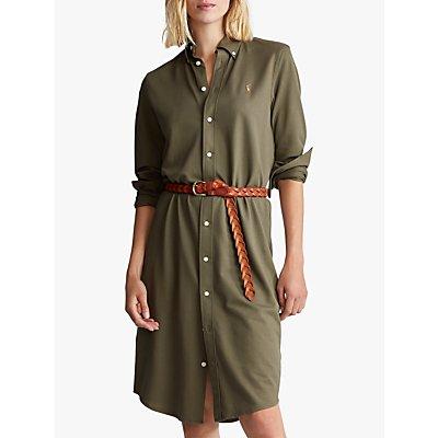 Polo Ralph Lauren Heidi Casual Dress, Defender Green