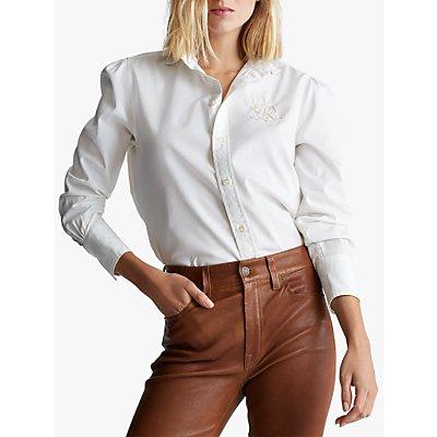 Polo Ralph Lauren Bria Long Sleeve Shirt, White