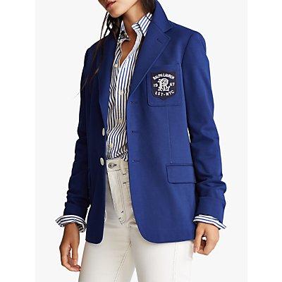 Polo Ralph Lauren Jacquard Blazer, Fall Royal