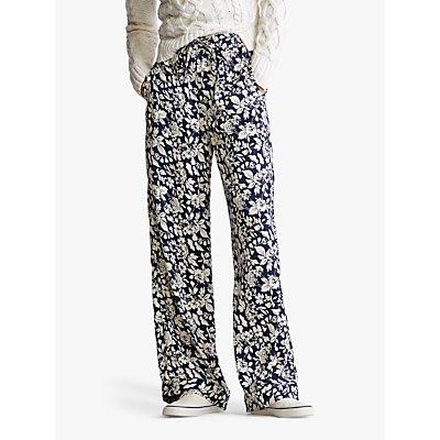 Polo Ralph Lauren Floral Print Trousers, Navy