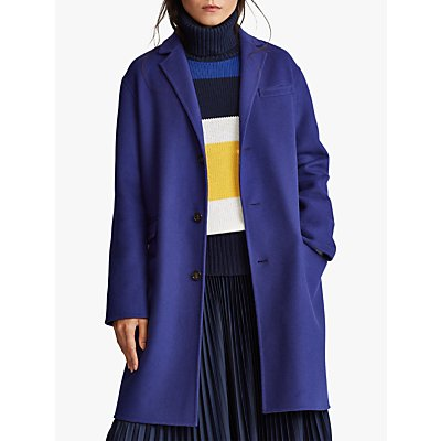 Polo Ralph Lauren Perry Wool Rich Coat, Fall Royal