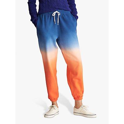 Polo Ralph Lauren Ombre Fleece Jogger Bottoms, Navy/Orange