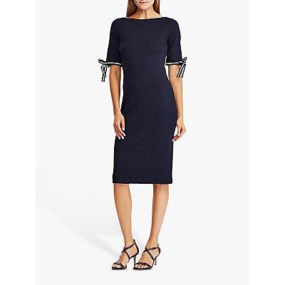 Lauren Ralph Lauren Brandeis Elbow Sleeve Dress, Lauren Navy