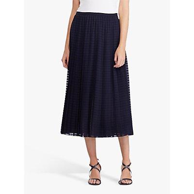 Lauren Ralph Lauren Bodil A-Line Skirt, Lauren Navy