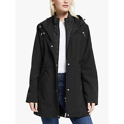 Lauren Ralph Lauren Soft Shell Quilted Coat, Black