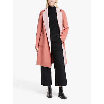 Lauren Ralph Lauren Reversible Coat, Pink Macaron/Apricot