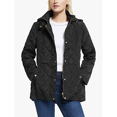Lauren Ralph Lauren Moto Quilted Jacket, Black