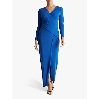 Fenn Wright Manson Petite Fantine Dress, Cobalt Blue