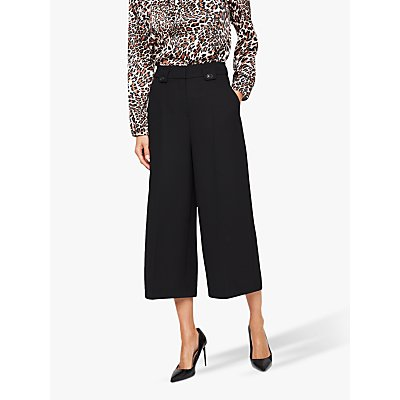 Damsel in a Dress Lydia City Suit Crop Trousers, Black