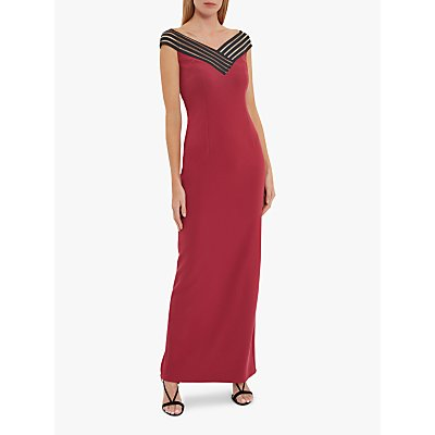 Gina Bacconi Ismeria Strap Detail Maxi Dress