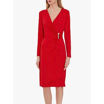 Gina Bacconi Myani Studded Jersey Dress