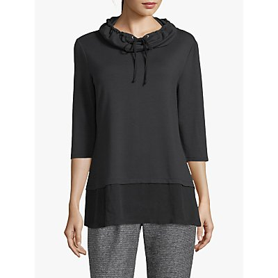 Betty Barclay Cowl Neck Tunic Top, Black