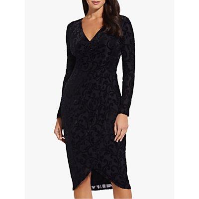 Adrianna Papell Embellished Sheath Dress, Black