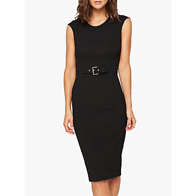 Damsel in a Dress Sofie Fitted Dress, Black