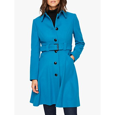 Damsel in a Dress Reeba Wool Blend Coat, Teal