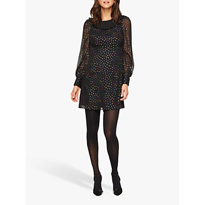 Damsel in a Dress Elma Spot Dress, Multi-Coloured
