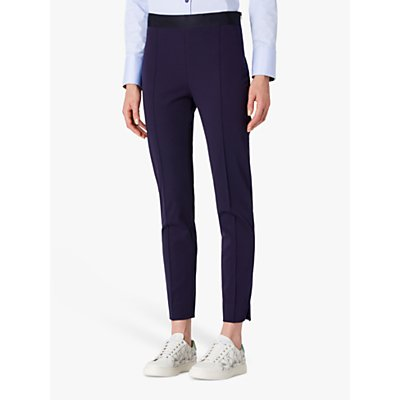 PS Paul Smith Slim Leg Super Stretch Trousers, Navy