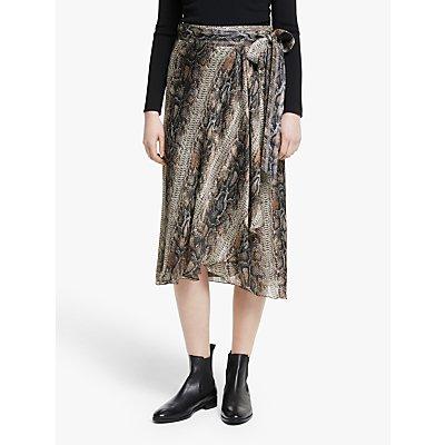 Ilse Jacobsen Hornbæk Cuba Snake Skirt, Multi