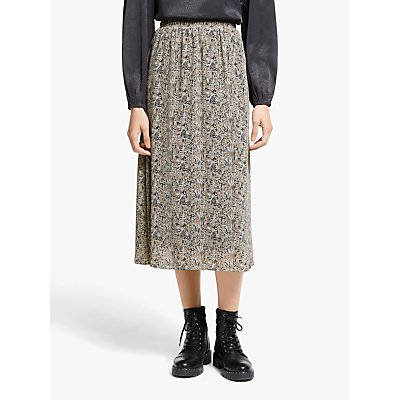 AWARE BY VERO MODA Josephine Midi Skirt, Birch