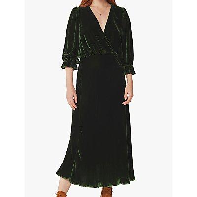 Ghost Silk Velvet Gracie Dress