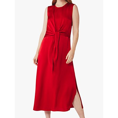 Ghost Kari Midi Dress, Pompeian Red