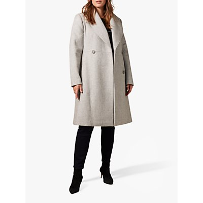 Studio 8 Ayda Wool Blend Coat, Grey