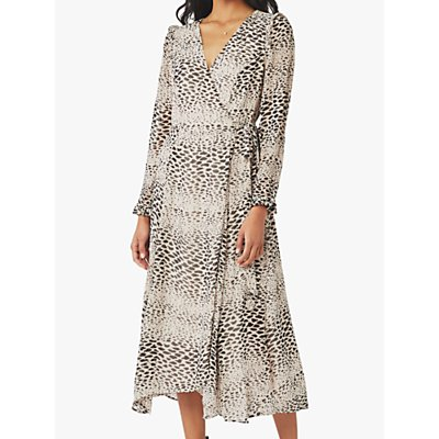 Ghost Sonal Animal Print Dress, Alicia Spot