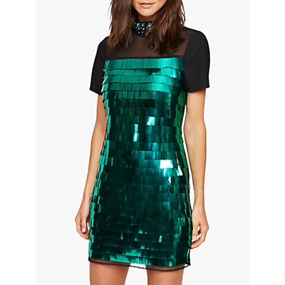 Damsel in a Dress Shula Sequin Party Dress, Teal