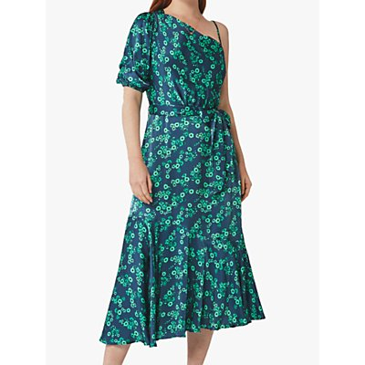 Ghost Raina Bernie Ditsy Dress, Blue