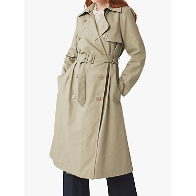 Ghost Celie Trench Coat, Khaki
