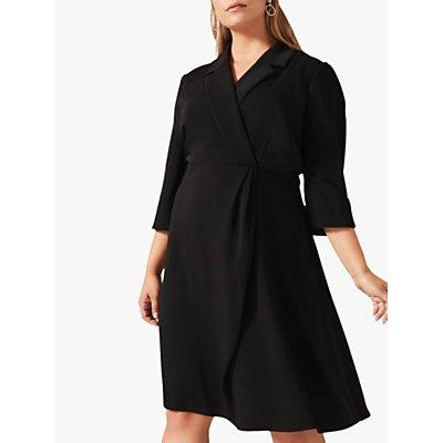 Studio 8 Penny Tuxedo Dress, Black
