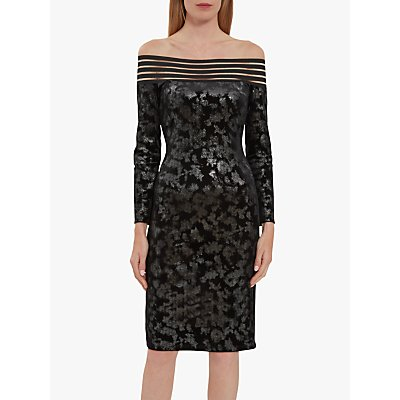 Gina Bacconi Jonina Velvet Dress
