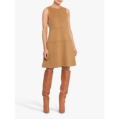 Helen McAlinden Carmel A-Line Shift Dress, Camel