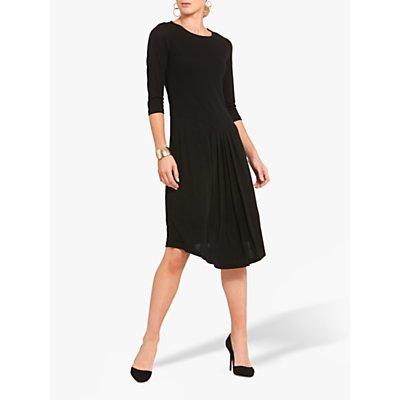Helen McAlinden Front Pleat Dress, Black