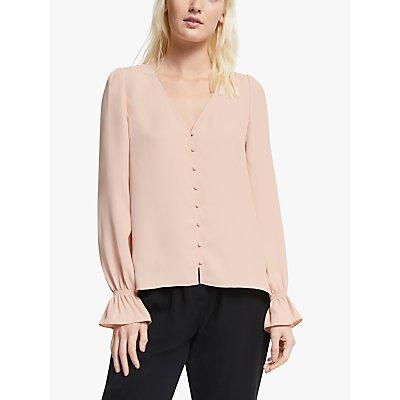 Joie Bolona Silk Blouse, Pink Sky