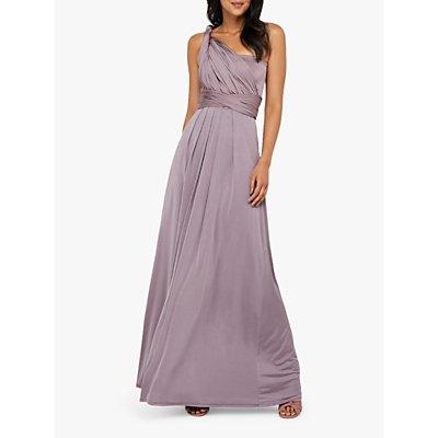 Monsoon Tallulah Multi Tie Bridesmaid Dress, Mocha