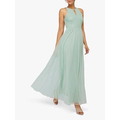 Monsoon Sophia Embellished Tulle Maxi Dress