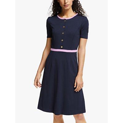 Boden Maria Ponte Dress, Navy