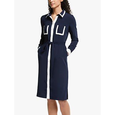 Boden Rachel Shirt Dress, Navy