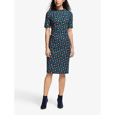 Boden Louise Textured Floral Dress