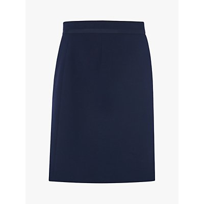 L.K.Bennett Nolan A-Line Skirt, Blue Midnight