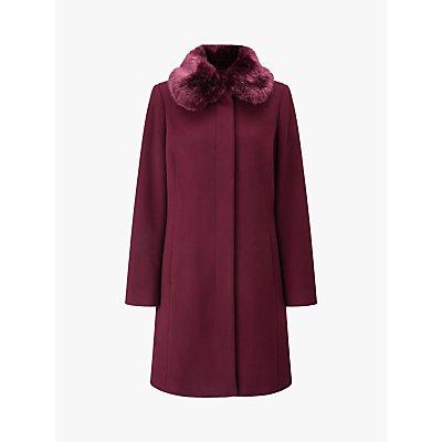 Four Seasons Faux Fur Collar Coat